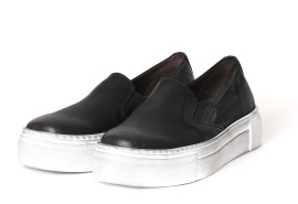 Lofina loafer - sort - NEROGA
